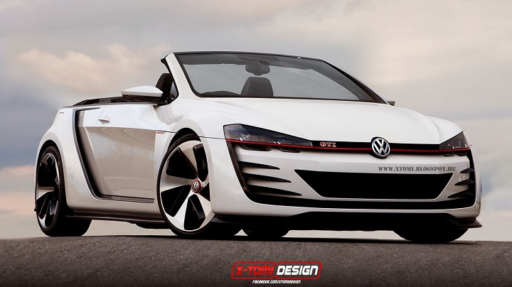2019 Volkswagen Golf GTI Cabriolet Concept photo - 3