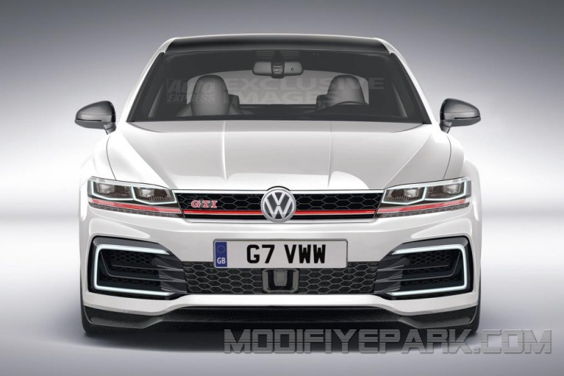 2019 Volkswagen Golf GTI Concept photo - 2