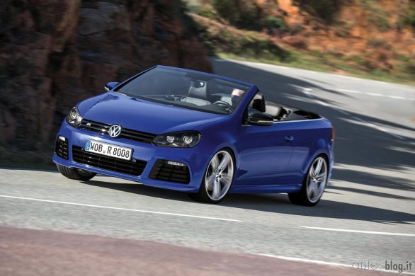 2019 Volkswagen Golf R Cabriolet Concept photo - 1