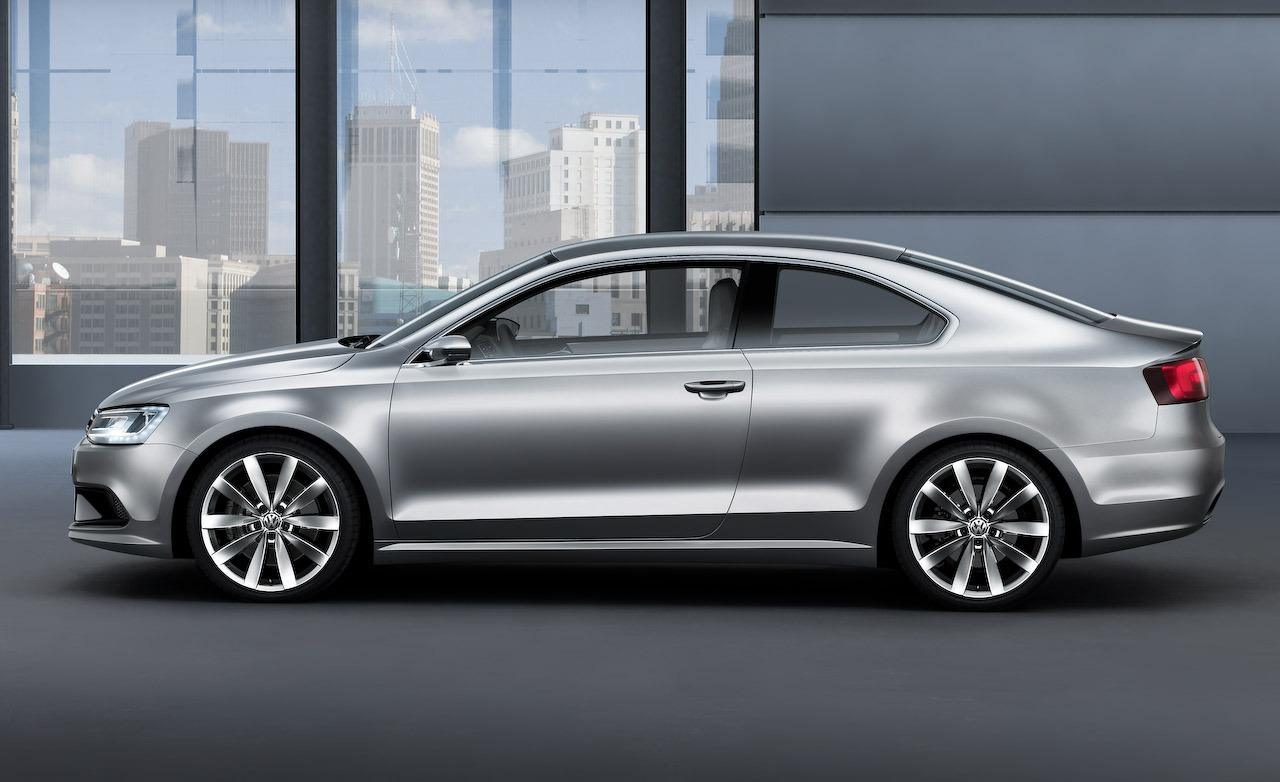 2019 Volkswagen New Compact Coupe Concept photo - 1