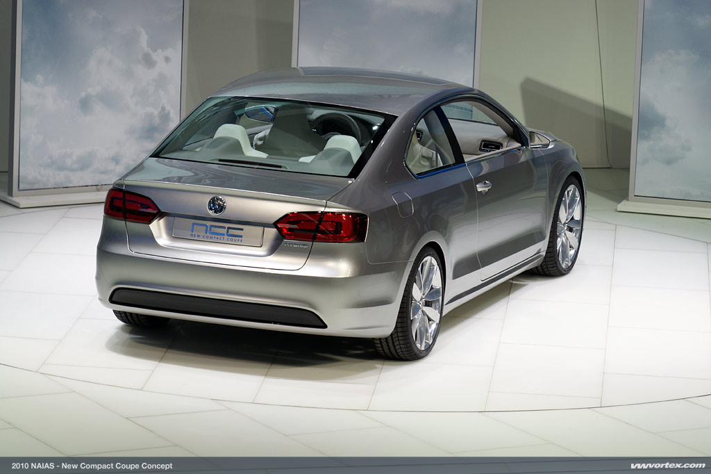 2019 Volkswagen New Compact Coupe Concept photo - 5