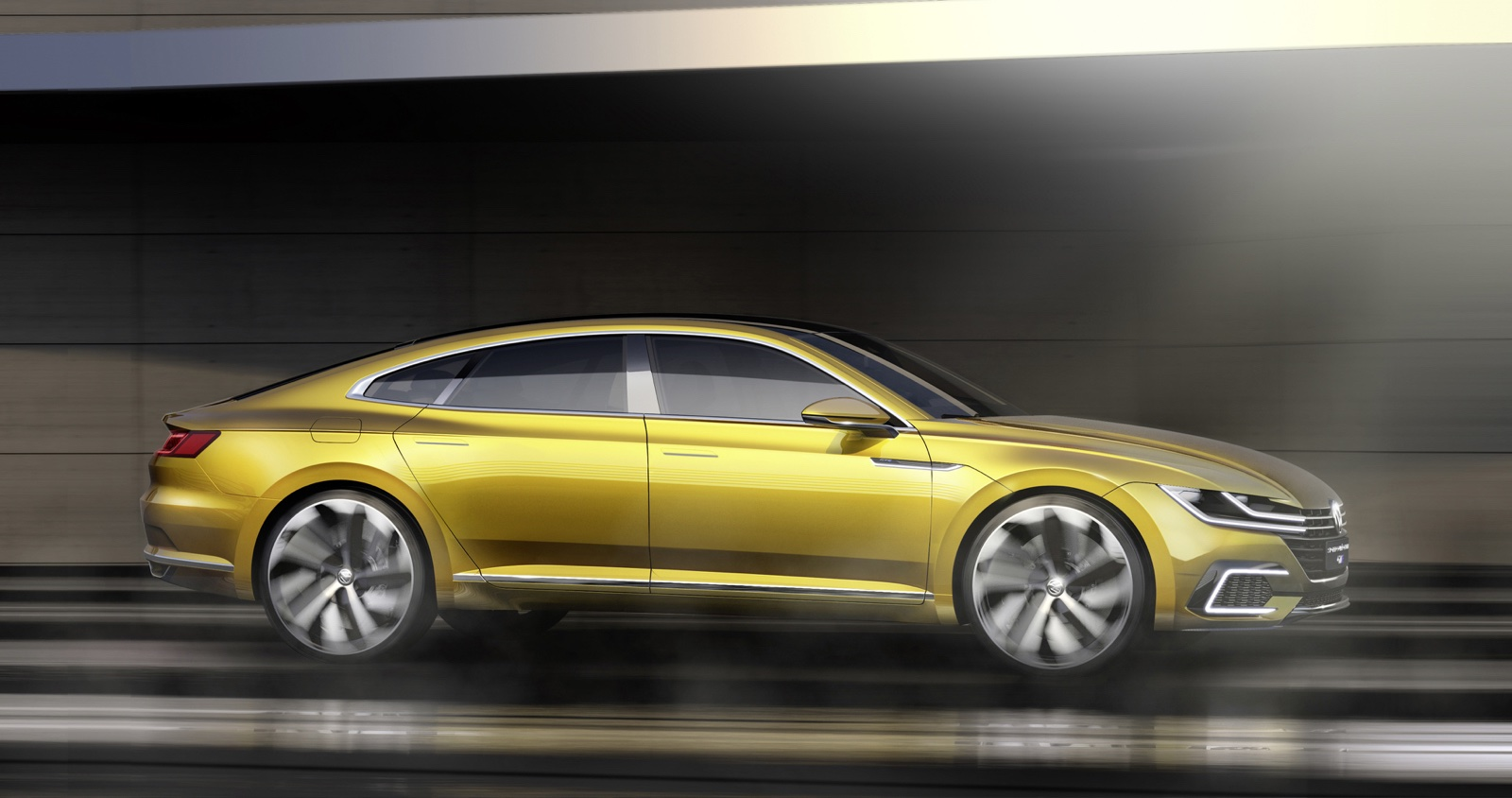2019 Volkswagen Sport Coupe GTE Concept photo - 2