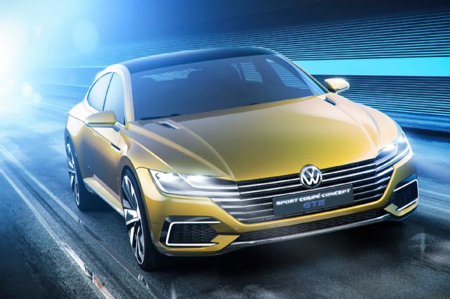 2019 Volkswagen Sport Coupe GTE Concept photo - 4