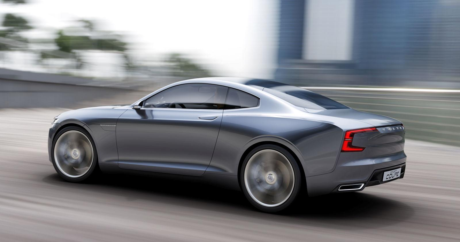 2019 Volvo Coupe Concept photo - 5