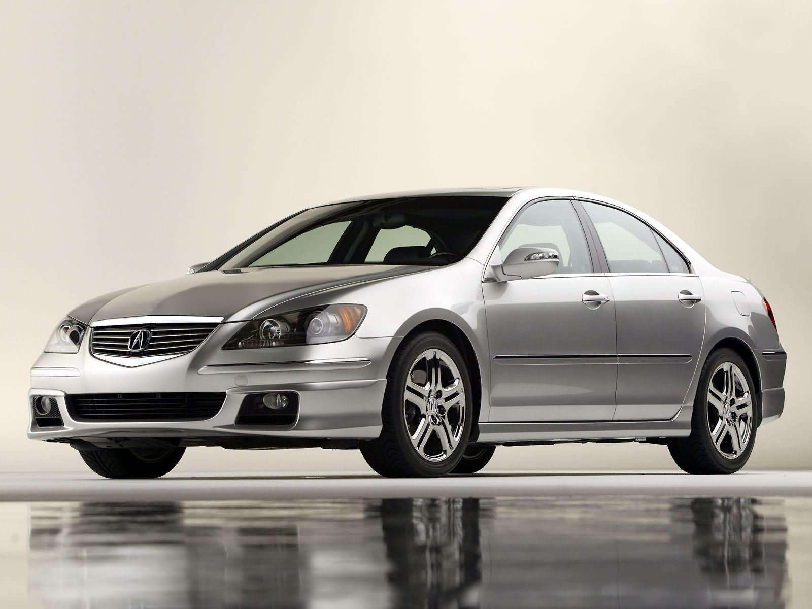 2005 Acura RL with ASPEC Performance Package photo - 3