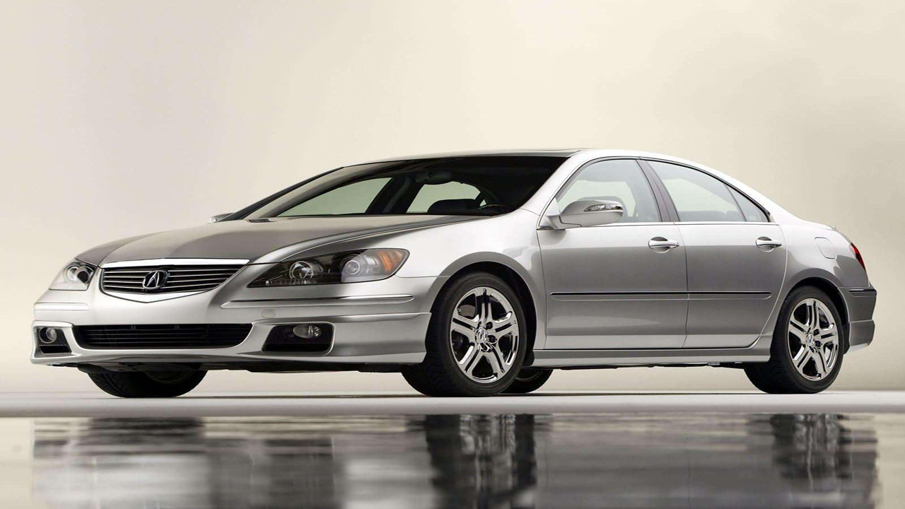 2005 Acura RL with ASPEC Performance Package photo - 5