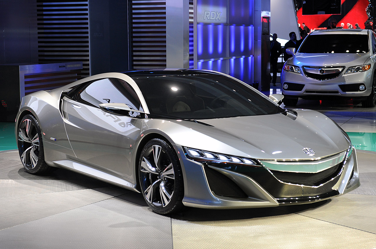 2012 Acura NSX Concept photo - 1