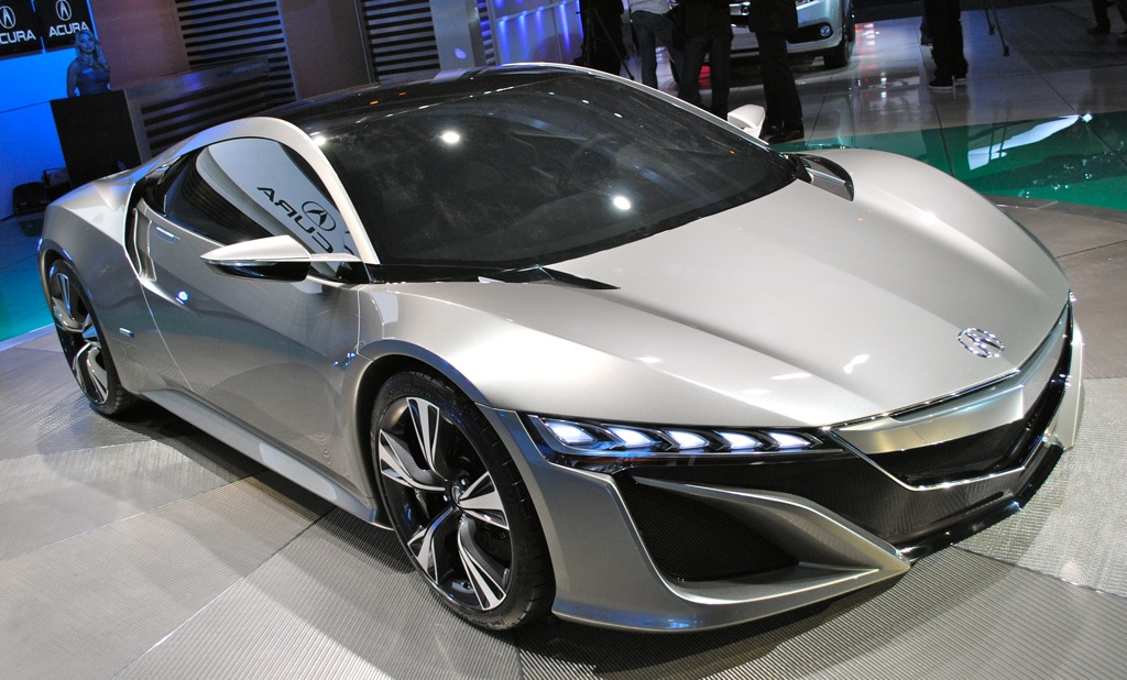 2012 Acura NSX Concept photo - 3