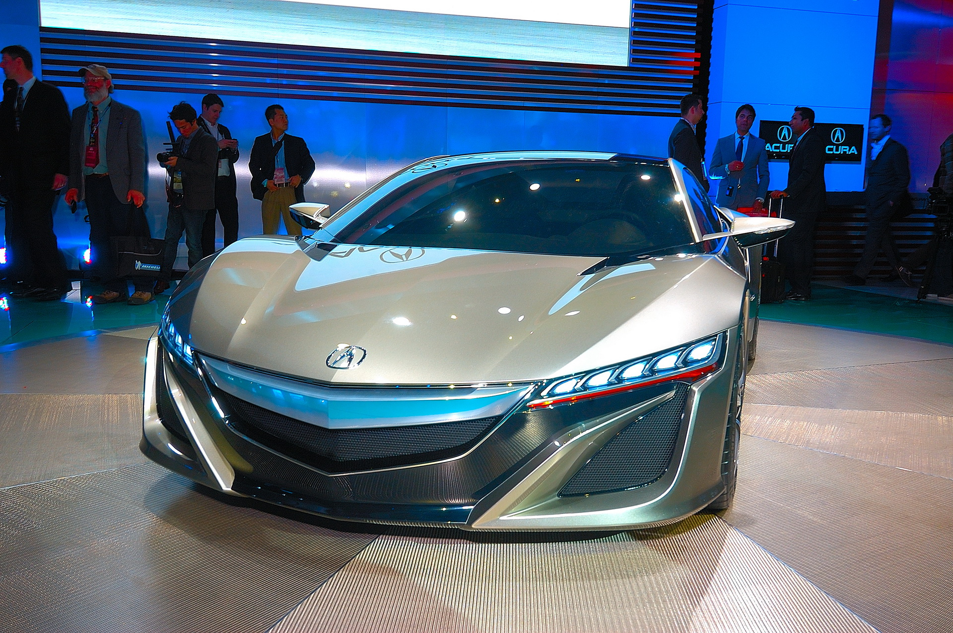 2012 Acura NSX Concept photo - 4
