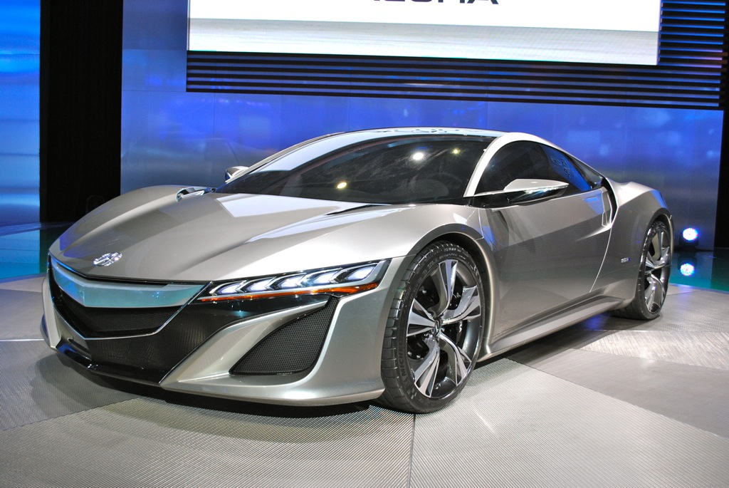 2012 Acura NSX Concept photo - 6