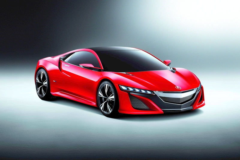 2012 Acura NSX Concept photo - 7