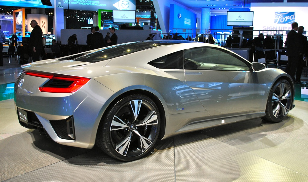 2012 Acura NSX Concept photo - 8