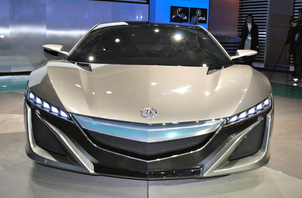 2012 Acura NSX Concept photo - 9