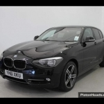 black bmw 1 series alloys
