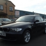 black bmw 1 series for sale