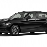 black bmw 1 series