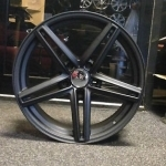 black bmw 3 series alloys