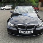 black bmw 318i for sale