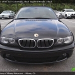 black bmw 325i convertible