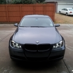 black bmw 328i rims