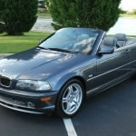black bmw 330ci convertible