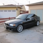 black bmw 330i zhp for sale