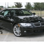 black bmw 335i coupe for sale