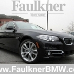 black bmw 5 series 2014