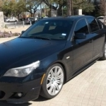 black bmw 5 series for sale