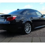 black bmw 5 series