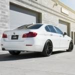 black bmw 528i rims