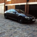 black bmw 6 series for sale