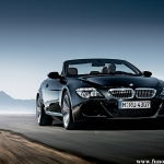 black bmw 6 series
