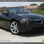 black bmw 650i convertible for sale
