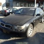 black bmw 745i for sale