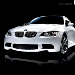 black bmw car images