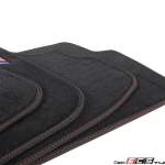 black bmw car mats