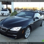 black bmw convertible 2013