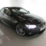 black bmw convertible 3 series for sale
