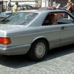 1981 Mercedes Benz S Class Coupe