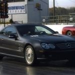 2003 Mercedes Benz SL55 AMG with Performance Package