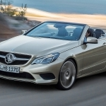2011 Mercedes Benz E Class Cabriolet UK Version