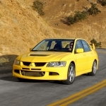 2004 Mitsubishi Lancer Evolution VIII European Version