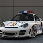 2006 TechArt Porsche 911 Carrera S Police Car