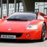 2001 Volkswagen W12 Coupe Concept