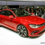 2014 Volkswagen New Midsize Coupe Concept