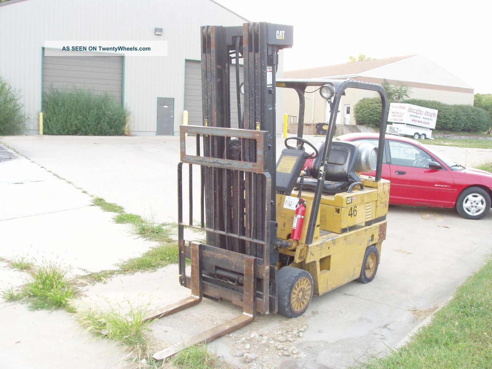 Caterpillar V50d Forklift Manual