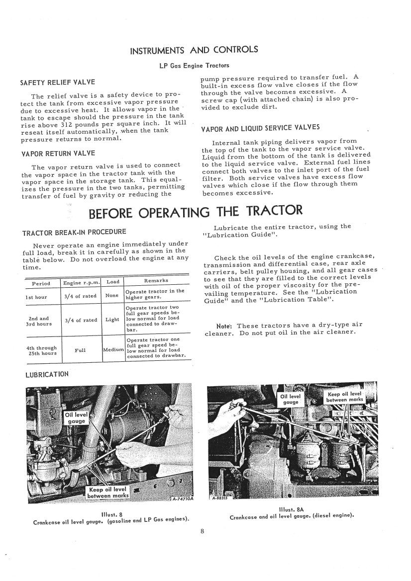 D4 7u Operators manual download