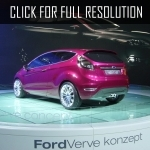 2016 Ford verve