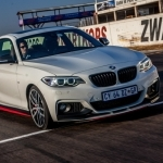 2017 BMW 2 Series Coupe with M Performance Parts